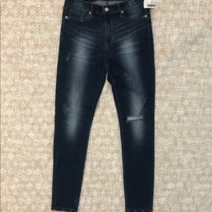 Love culture distressed skinny jeans size 13